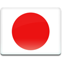 flag, japan Red icon