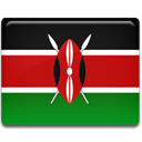 kenya, flag Firebrick icon