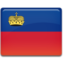 Liechtenstein, flag Crimson icon