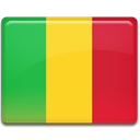 Mali, flag Gold icon
