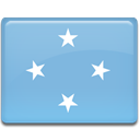 flag, Micronesia SkyBlue icon