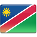 flag, Namibia Crimson icon