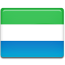 flag, Sierra, leone MediumSeaGreen icon