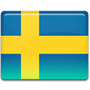 flag, sweden Gold icon