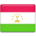 flag, Tajikistan LimeGreen icon