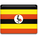 flag, Uganda Gold icon