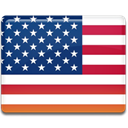 states, flag, usa, united states, united MidnightBlue icon