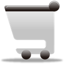 buy, shopping cart, ecommerce Silver icon