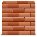 Firewall, Bricks Icon