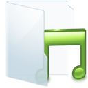 Notes, music GhostWhite icon