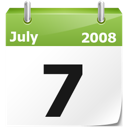 year, date, current date, full calendar, Month, Calendar WhiteSmoke icon