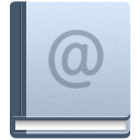 Address, Book LightSteelBlue icon