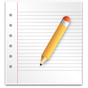 Edit, paper, document, write WhiteSmoke icon