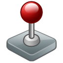 Games, joystick, Computer game DimGray icon