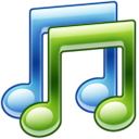 music, itunes DarkGreen icon