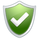 Check, Protection, Antivirus, shield DarkSeaGreen icon
