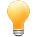 tips, bulb, light, Idea SandyBrown icon