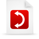 red, paper, document, File WhiteSmoke icon
