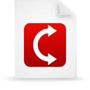 File, paper, red, document WhiteSmoke icon