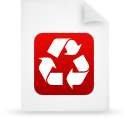 document, red, paper, File WhiteSmoke icon