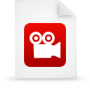 red, File, paper, document WhiteSmoke icon