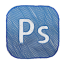 photoshop SteelBlue icon