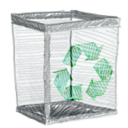 recylebin, Empty, Trash Gainsboro icon