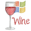 wine Black icon