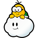 Lakitu Black icon