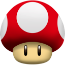 Mushroom, Super Red icon