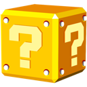 question, mario Gold icon