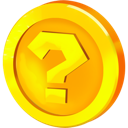 coin, question Gold icon