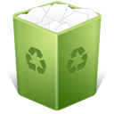 Full, recycle bin, Trash OliveDrab icon