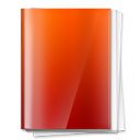 Folder, Note, document, papers, files Firebrick icon