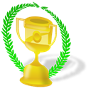 trophy Black icon