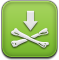 download, pirate, Installous YellowGreen icon