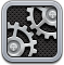 settings DarkSlateGray icon