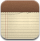 Notes Wheat icon