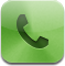Fax, mail, Call, phone DarkSeaGreen icon
