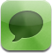 Comment, sms, Text, talk DarkSeaGreen icon