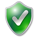 shield, green, Protected, Check, Checked Black icon