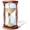 history, Hourglass, Clock, waiting, pending, time Black icon