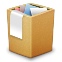 Full, Cardbox, Trash Peru icon