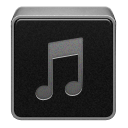 Artists, music, itunes Black icon