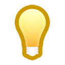 bulb, Idea, light Black icon