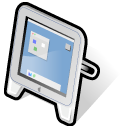 Apple, studio, 17, beos, Display Black icon