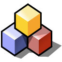 Blocks, beos Black icon