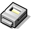 printer, beos Black icon