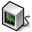beos, pulse Black icon