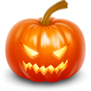 pumpkin, halloween, jack o lantern OrangeRed icon